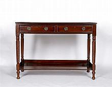 A 19th Century mahogany side table