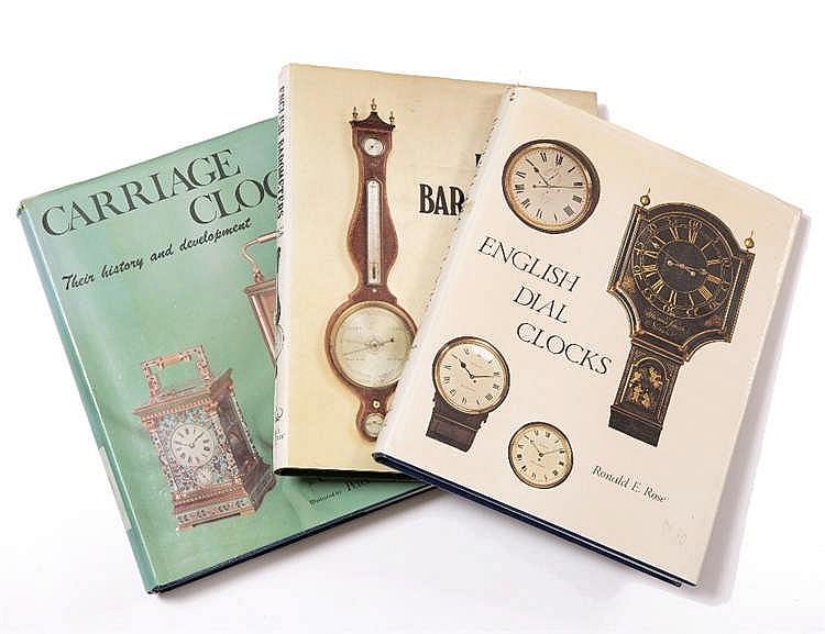 ROSE, Ronald E, English Dial Clocks, 1978, Allix, Charles, Carriage Clocks,