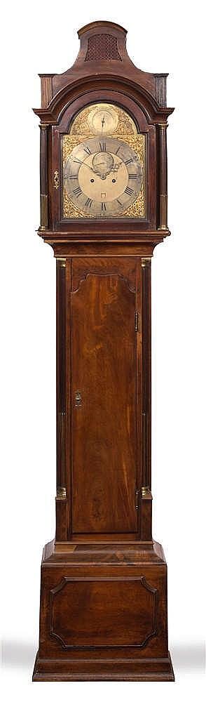 JONATHAN SCOTT, LONDON A George III mahogany eight day longcase clock, the