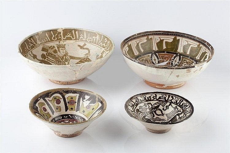 A collection of Eastern Iran pottery 10th Century possibly Nishapur, t