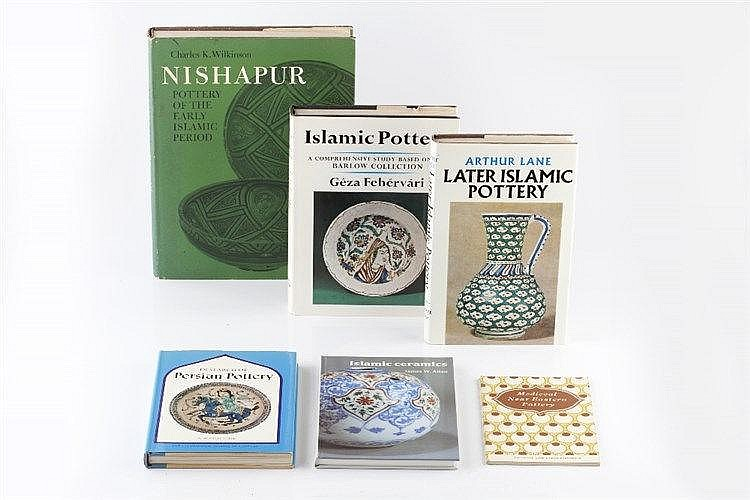 (Books) Wilkinson, Charles K, Nisapur Pottery and five other books rel