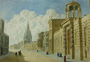 GEORGE PYNE (1800-1884) View of the High Street,
