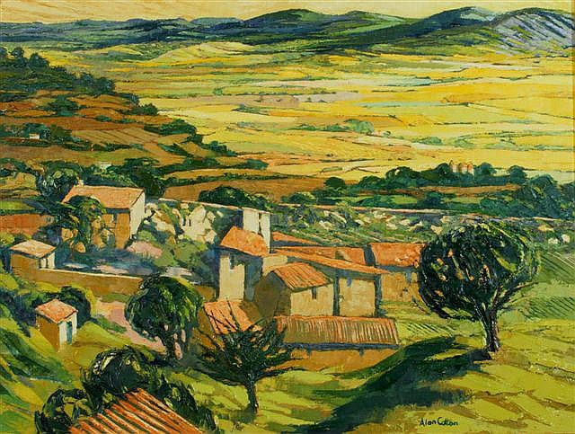 ALAN COTTON (b.1936) Old Farmstead, Near Gordes,