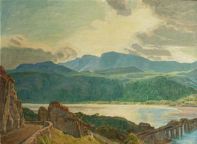 CHARLES MARCH GERE (1869-1957) 'Cader Idris from