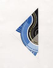 Vikki Slowe (British, 1947) Three abstract compositions, coloured etchings, each