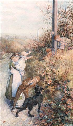 Watercolours: WILLIAM HERBERT ALLEN (1863-1943) A