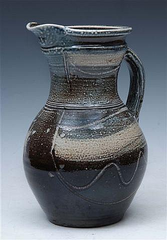 MICHAEL CASSON (1925-2003) A salt glazed stoneware