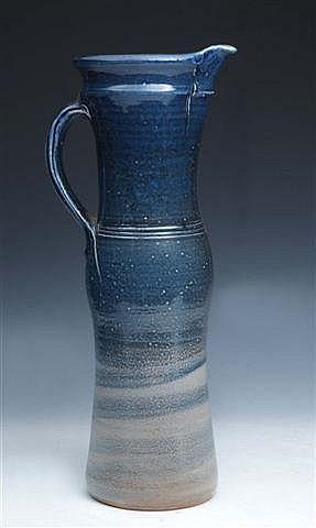 MICHAEL CASSON (1925-2003) A tall salt glazed