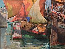 Filippo Marfori Savini (Italian, 1877-1952) Figure taking d