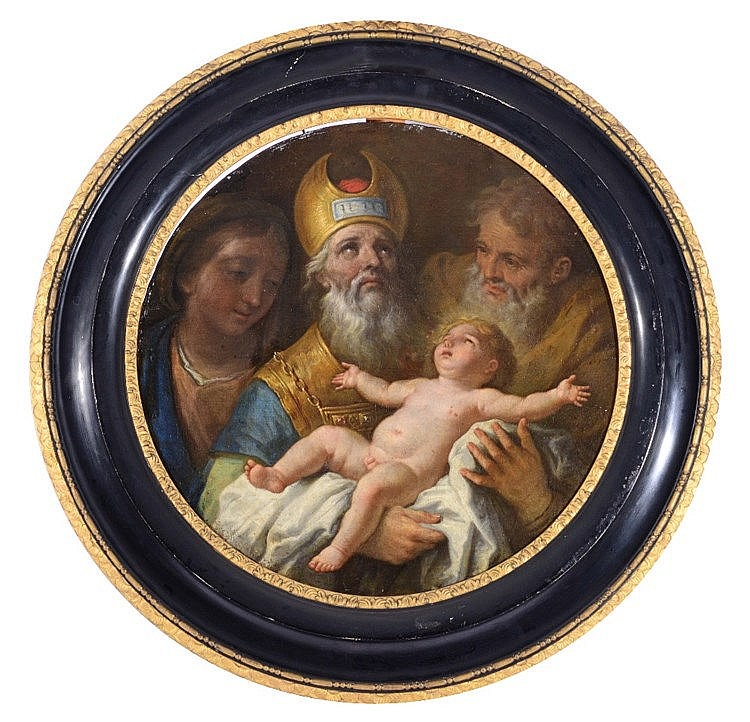 18TH CENTURY ITALIAN SCHOOL The Presentation of the Christ Child in th