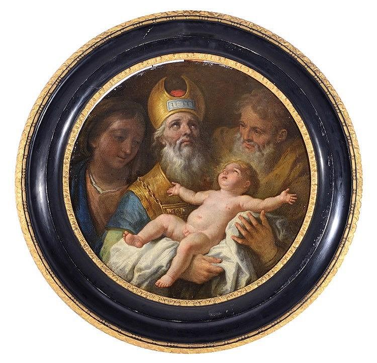 18TH CENTURY ITALIAN SCHOOL The Presentation of the Christ Child in th