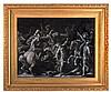 ATTRIBUTED TO ANTONIO TEMPESTA (1555-1630) Cavalry skirmishes, a pair,
