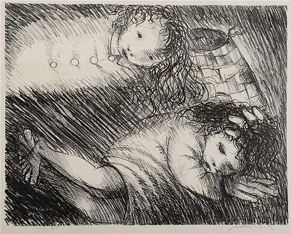 ARTHUR BOYD (1920-1999) 'St. Francis when Young Dreaming of Fine Cloth