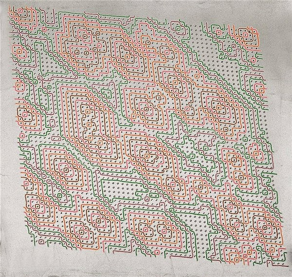 HAROLD COHEN (20TH CENTURY) Untitled, signed in pencil and dated 1970,