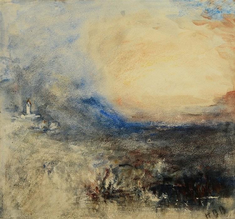 HERCULES BRABAZON BRABAZON (1821-1906) 'Souvenir of Turner', signed wi