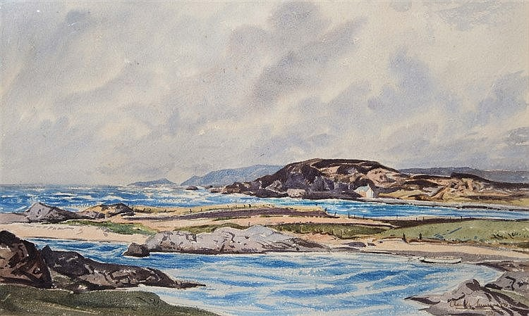 CLAUDE MUNCASTER (1903-1974) On the West Coast of Scotland, signed and