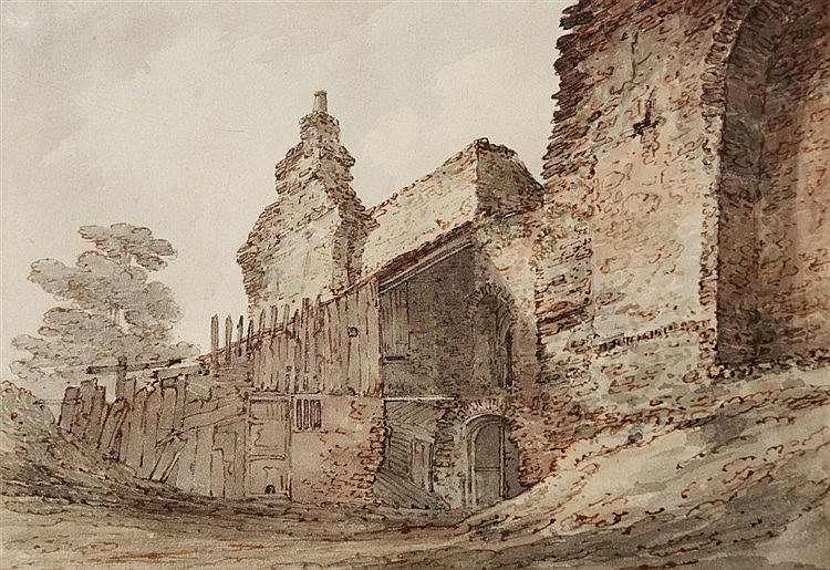 JOSEPH FARINGTON (1747-1821) Part of the ruins at Kenilworth Castle, W