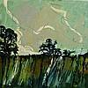 EDWARD HAMLYN (b. 1941) 'Shore', signed verso, oils on board, 46 x 57c