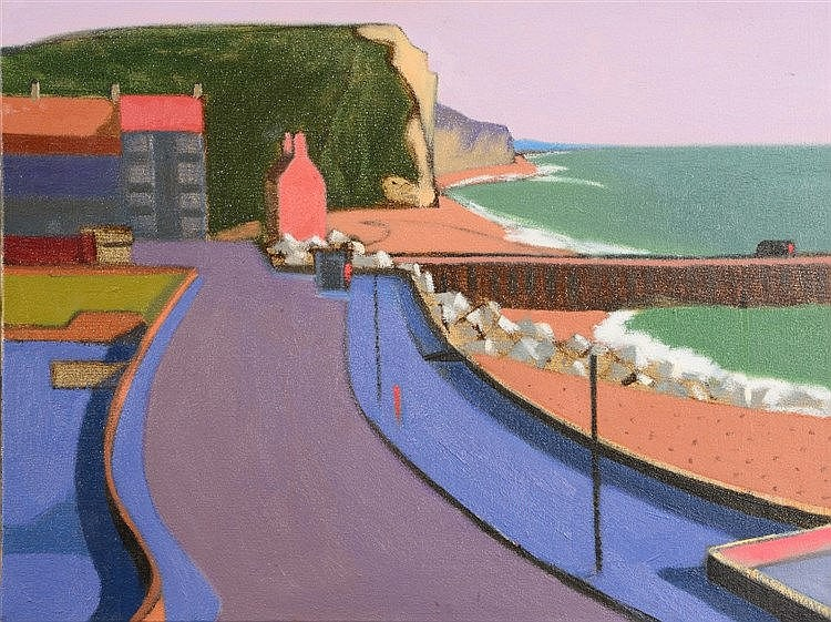 ALEXANDER LOWERY (b. 1957) 'West Bay No. 20', signed, titled and dated