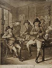 BOWLES & CARVER (pubs.) 'Bachelors Hall', mezzotint, No. 609 Pub c.Jun