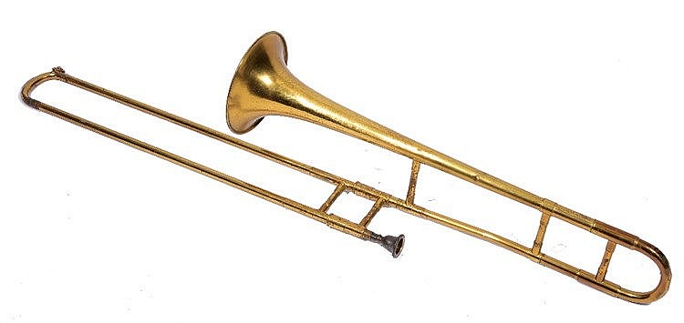 A DEARMAN 'SUPER' TROMBONE in fitted case