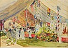 WILLIAM MONK (1863-1937) The Amersham Show, inscribed 'Amersham' and d