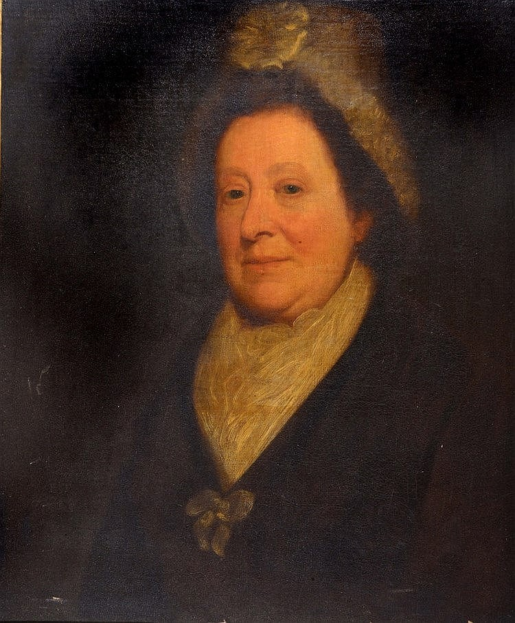 ENGLISH SCHOOL, EARLY 19TH CENTURY Portrait of Anne, wife of Rev. Robe