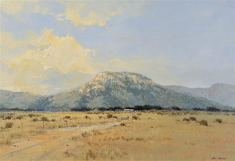 MELVIN ARTHUR BRIGG (b.1950) South African landscape, signed, oils on