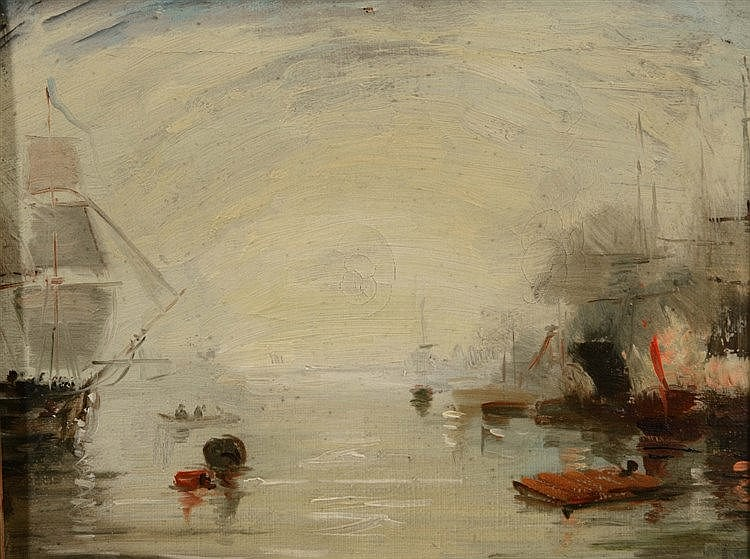 AFTER JOSEPH MALLORD WILLIAM TURNER Keelmen heaving in coals by moonli
