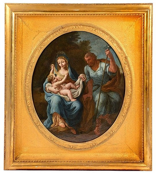 ATTRIBUTED TO FRANCESCO DE MURA (1696-1782) Madonna with Christ Child