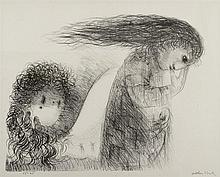 ARTHUR BOYD (1920-1999) 'St. Francis and the Revels in Assisi', lithog