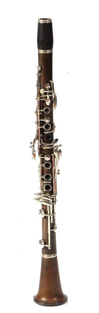 A BOOSEY & HAWKES 'WESTMINSTER' CLARINET cased.
