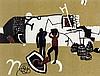 Keith Vaughan (British, 1912-1977) for Edinburgh Weavers, Keith Vaughan, £0