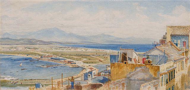 JOHN O'CONNOR R.I. R.H.A. (1830-1889) - A view