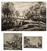 S.A. BOLSWERT AFTER PETER PAUL RUBENS  Horseman at a pond, engraving, 51 x, Schelte Bolswert, £0