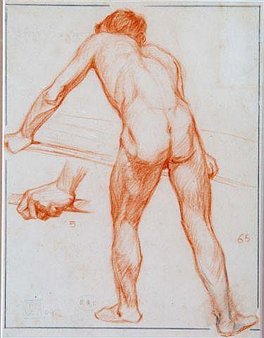 LESLIE MOFFAT WARD (British, 1888-1978) Figure