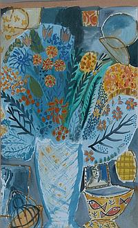 CHRISTINE BARRETT (20th Century) Still Life of