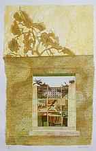 Leonard Rosoman (British, 1913-2012) Looking through a Window 10/160, signed and numbered in pencil (in the margin)