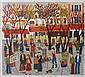 JOSETTE BARDOUX (b. 1948) 'La Place du