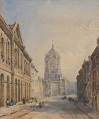 CIRCLE OF GEORGE PYNE (1800-1884) Christ Church