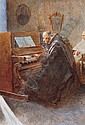 AUGUSTO DAINI (1860-1920) - The music recital,, Augusto Daini, Click for value