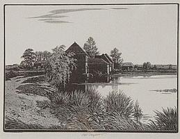 CHARLES W. TAYLOR (1878-1960) 'Hanningfield', 'The
