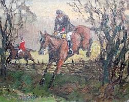 HENRY M. CHILDERSTONE (Exh. 1899-1935) 'The Jump',