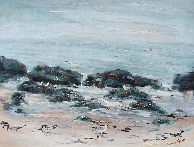 VALERIE FRASER (b.1933) 'Early morning sea',