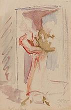 Sven Berlin (British, 1911-1999) Mother and Child