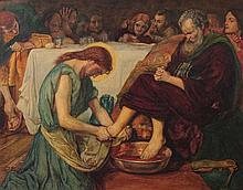 After Ford Maddox Brown (British, 1821-1893)  Jesus Washing Peter'