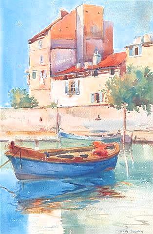 LOUIS ETIENNE DAUPHIN (1885-1926) 'Toulon',