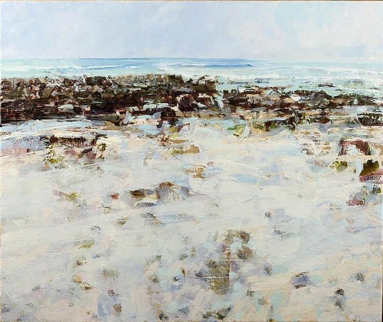 Sarah Adams (b.1958)  Beach I