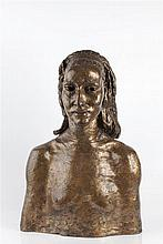 Jacob Epstein (1880-1959)  Morna (Stewart), conceived 1935