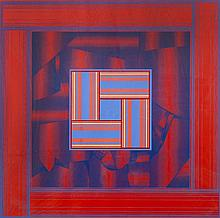 Derek Hirst (b.1930) 'Paradox No IV 1975' 31/35, signed, titled and numbered in pencil (in the margin)